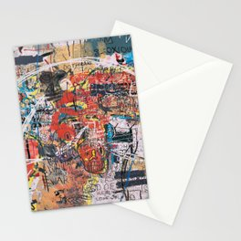 World Mapsqiuat Stationery Cards