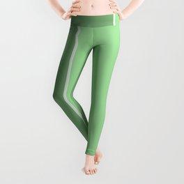 Green Lines Leggings