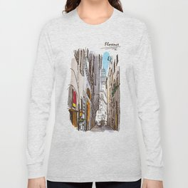 Sketches from Italy - Florence Long Sleeve T-shirt