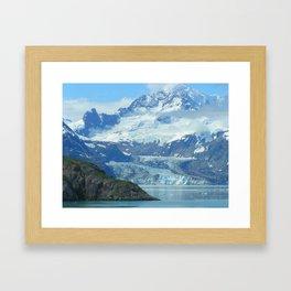 Alaska In The Summer Framed Art Print