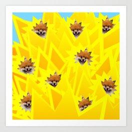 Sunshine Captain! Art Print