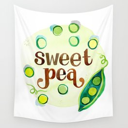 Sweet Pea Wall Tapestry