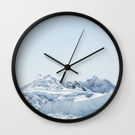 wall of ice Wall Clock