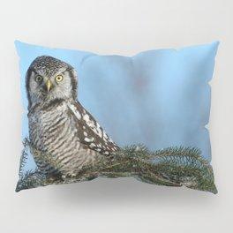 Atop a fallen branch Pillow Sham