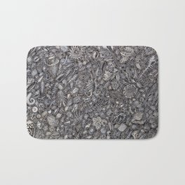 Sea shells Ocean decor Bath Mat