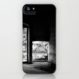 Sassi di Matera: home iPhone Case