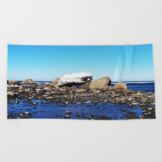 Stranded Iceberg Beach Towel