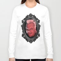 lucas david Long Sleeve T-shirts featuring David by Jehzbell Black