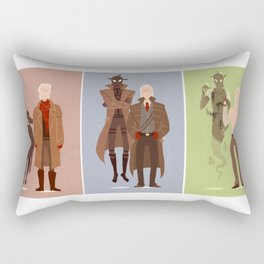 MGS Through the Years Rectangular Pillow