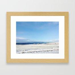 Blue roof Framed Art Print