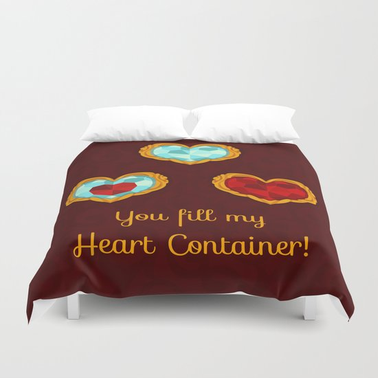 HEART CONTAINER Duvet Cover