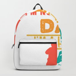 Father Father's Day Dad hunters hunting Backpack