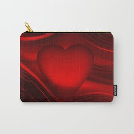 Red heart 16 Carry-All Pouch