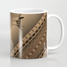 Elk Spirit (Brown) Coffee Mug