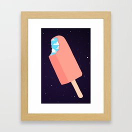 Creamsicle To Another Dimension... (inverted) Framed Art Print