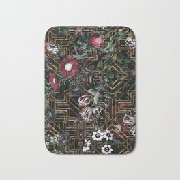 GATSBY and FLORAL pattern Bath Mat