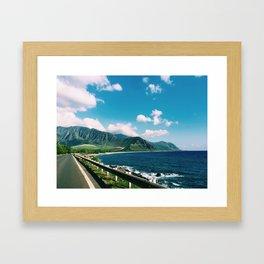 Waiʻanae Framed Art Print