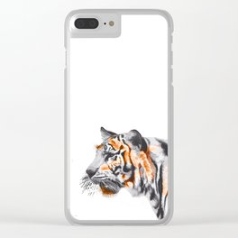 Tiger 2 Clear iPhone Case