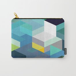 Blue Diamonds Carry-All Pouch