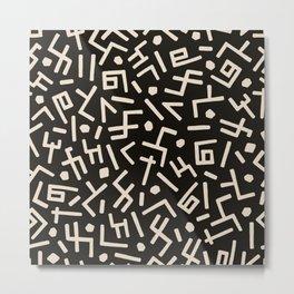 African Styles Pattern 5 Metal Print