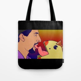 JesusLoves Miss Pacman  Tote Bag