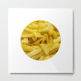 Prohibited food Metal Print