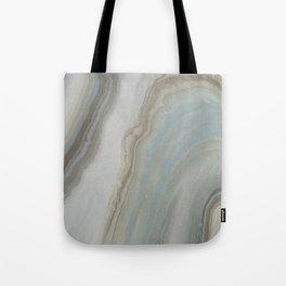 Geode in Blue Tote Bag