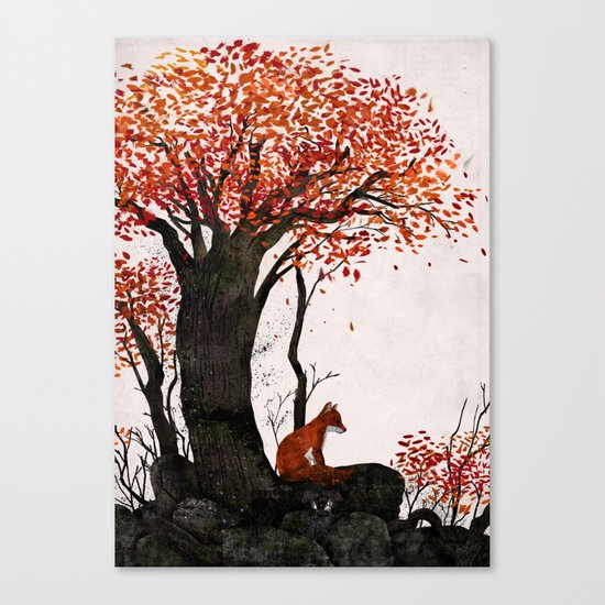 Fantastic Mr. Fox Doesn't Feel So Fantastic Anymore Canvas Print