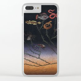 Under The Sea Ecosystem Clear iPhone Case