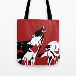 A Wolf's Bloodlust Tote Bag