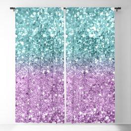 Mermaid Girls Glitter #6 #shiny #decor #art #society6 Blackout Curtain
