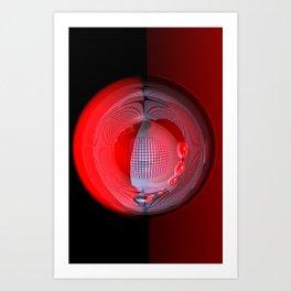 light, glass and colors -4- Art Print