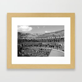 Colosseo Colossee Framed Art Print