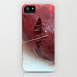 Io sono le mie cicatrici iPhone Case