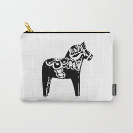 Swedish Dala Horse Carry-All Pouch