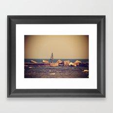 Sail Barcelona Framed Art Print