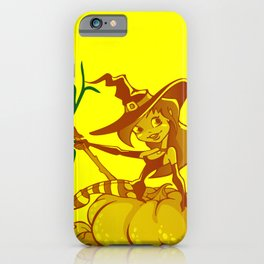 Sassy Little Witch iPhone Case