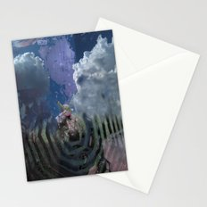 Spiral Out Stationery Cards