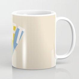 Letters : Daft Coffee Mug