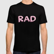 RAD Black X-LARGE Mens Fitted Tee
