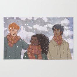 Golden Trio Rug