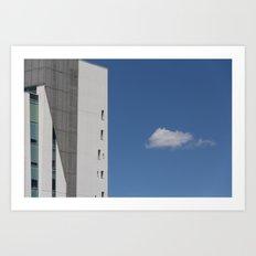 Hermit cloud Art Print