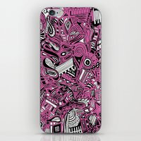 bubblegum iPhone & iPod Skins featuring BubbleGum by DuckyB