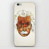 einstein iPhone & iPod Skins featuring Einstein by Jason Ratliff