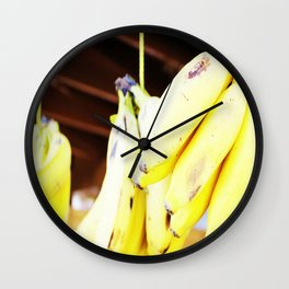 eat local grown Wall Clock
