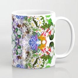 Spring wildflower mandala 2 Coffee Mug