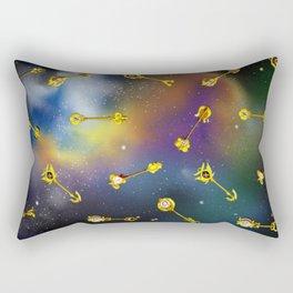 Lucy Heartfilia's Celestial Gate Keys Rectangular Pillow