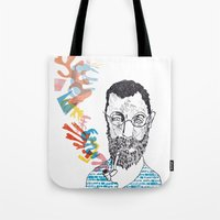 matisse Tote Bags featuring Matisse by Le Hello