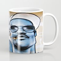 graffiti Mugs featuring Graffiti  by Christine Fitzgerald Photography