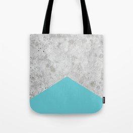 Concrete Arrow Light Blue #206 Tote Bag